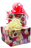 Dos regalos Fotos de archivo libres de regalías