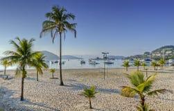 DOS Reis, Rio de Janeiro, Brasile di Angra fotografie stock