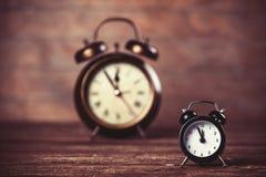 Dos relojes Foto de archivo libre de regalías