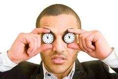 Dos relojes Imagen de archivo libre de regalías