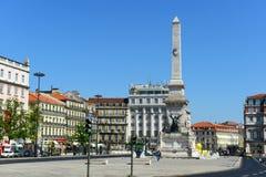 DOS Restauradores, Lisbonne, Portugal de Praça Images libres de droits