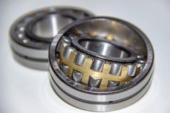 Dos rodamientos de rodillos esféricos de la fila doble Fotografía de archivo