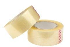 Dos rollos de cinta adhesiva Foto de archivo
