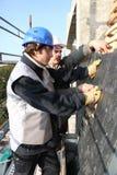 Dos roofers foto de archivo