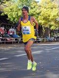 DOS Santos de Marilson Gomes que funciona con a Berlin Marathon 2013 Foto de archivo