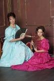 Dos señoras foto de archivo