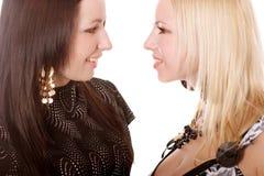 Dos señoras Foto de archivo libre de regalías