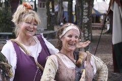 Dos señoras encantadoras Fotos de archivo