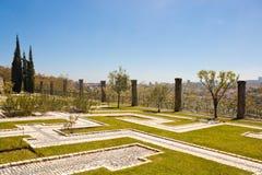 Dos Sentimentos Jardim (сад чувств) в Порту Стоковая Фотография