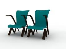 Dos sillas Fotografía de archivo