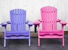 Dos sillas Imágenes de archivo libres de regalías