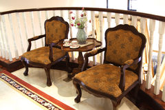 Dos sillas Fotografía de archivo libre de regalías