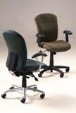Dos sillas de la oficina Fotografía de archivo libre de regalías