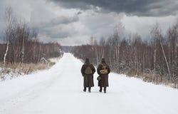 Dos soldados Imagen de archivo libre de regalías