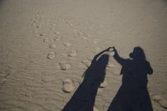 Dos sombras Fotos de archivo