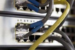 Dos switchs imagen de archivo