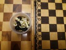 Dos tableros de ajedrez del vintage Fotos de archivo