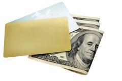 Dos tarjetas de crédito Fotografía de archivo libre de regalías