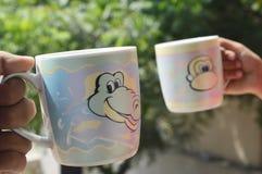 Dos tazas Imagen de archivo
