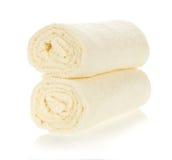 Dos toallas un rollo Fotografía de archivo