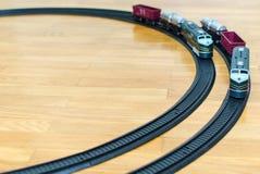 Dos trenes del juguete Fotos de archivo