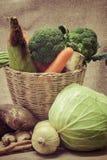 Dos vegetais vida ainda imagens de stock royalty free