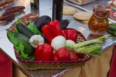 Dos vegetais vida, alimento e bebida ainda - Fotografia de Stock