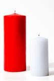 Dos velas Foto de archivo