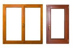 Dos ventanas Imágenes de archivo libres de regalías