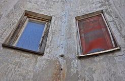 Dos ventanas Imagen de archivo