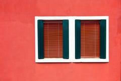Dos ventanas Fotografía de archivo libre de regalías