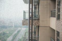 Dos ventanas de cristal Imagenes de archivo
