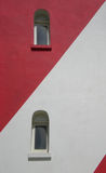 Dos ventanas son faro Foto de archivo