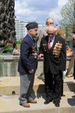 Dos veteranos Fotografía de archivo libre de regalías