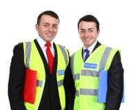 Dos vigilantes de seguridad Foto de archivo
