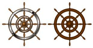 Dos volantes stock de ilustración