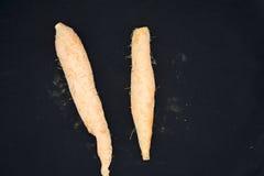 Dos zanahorias Foto de archivo