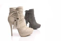 Dos zapatos Fotografía de archivo libre de regalías