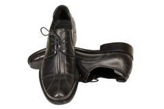 Dos zapatos de los hombres Fotografía de archivo libre de regalías