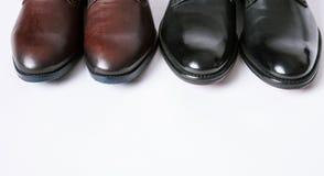 Dos zapatos de los pares Fotografía de archivo libre de regalías
