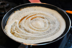 Dosa Preparation Stock Photography