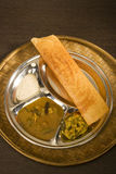 Dosa and Sambaar Stock Image