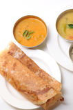 Dosa sambar Stock Photography