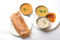 Dosa sambar Stock Photo