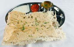 Dosa and sambhar Stock Photos