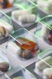 Dose de médicament photographie stock libre de droits