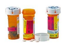 Dose diária da medicina Imagens de Stock