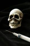 Dose mortale della morte Immagini Stock