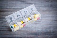 Dose quotidienne de drogue image libre de droits