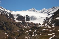 Dosegù glacier Royalty Free Stock Photography